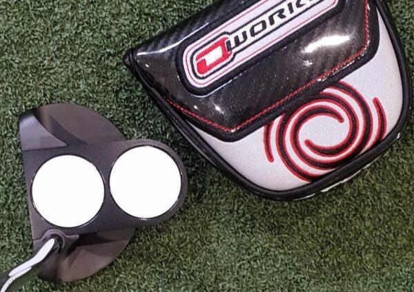 Bolton Performance Golf - BRAND NEW Odyssey O Works 2-Ball Black Putter 35″ Super Stroke Pistol GT Tour Grip